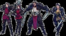 LuCT PSP Dark Knights Artwork