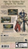 LuCT PSP US Game Backside