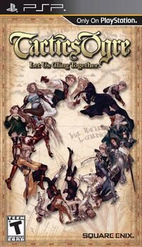LuCT PSP US Game Cover