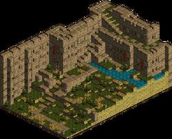 Heim Castle - Courtyard