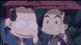 Shinza and friend