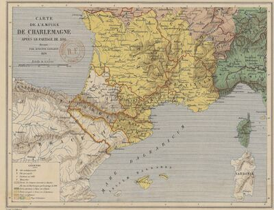 Aquitaine en 806