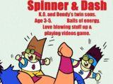 Spinner and Dash