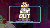 Villains Night Out Titlecard