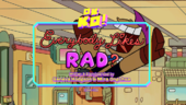 Everybody Likes Rad Titlecard