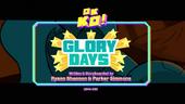 Glory Days Titlecard