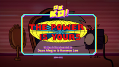 The Power Is Yours Titlecard