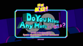 Do You Have Any More in the Back Titlecard