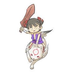 Chibiterasu and Kuni