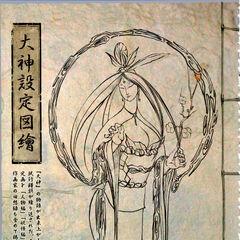 A portrait of Sakuya, drawn by <a href=