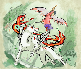 Resubmit amaterasu and waka by sojiokage