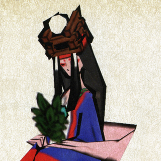 Himiko as she appears in-game.