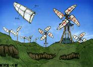 Kusa windmills