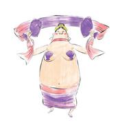 Dragonian dancer concept art 1