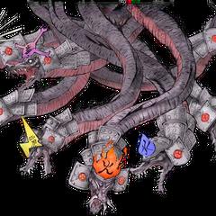 Orochi's <i>Ōkamiden</i> artwork.