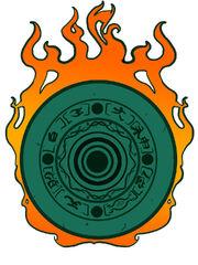 Okami solar disc by fabricmonster-d37rnoz