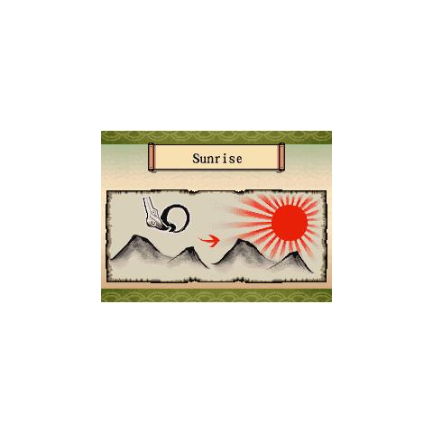 Sunrise's <i>Ōkamiden</i> scroll.