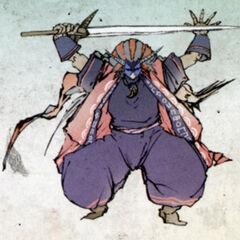 Okikurumi en tant qu'adversaire
