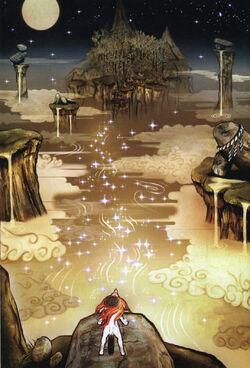 River heaven art