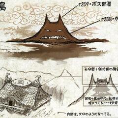 Oni island concept art.