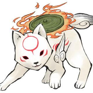 Chibiterasu with Divine Retribution.