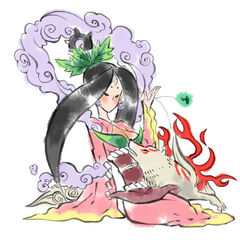 Amaterasu and Sakuya.
