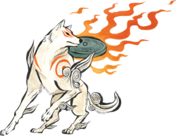 Amaterasu main artwork