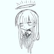 Long hair sweater angel instagram