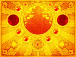 The sun's curse