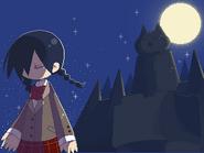 夜中のモゲキ png