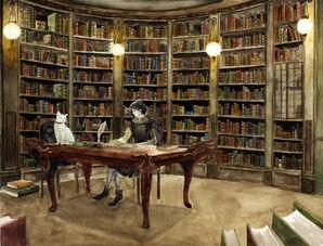 Study in Abhorsens House