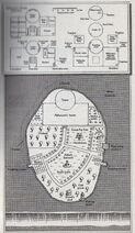 Aborson house and island Map