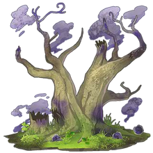 Purple Sacred Tree 1