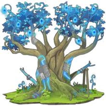 Blue Sacred Tree 2