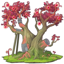 Red Sacred Tree 2