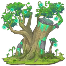 Green Sacred Tree 2