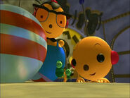 Welcome to The Little Greens with Percy Polie and Olie Polie