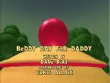 Beddy Day for Daddy