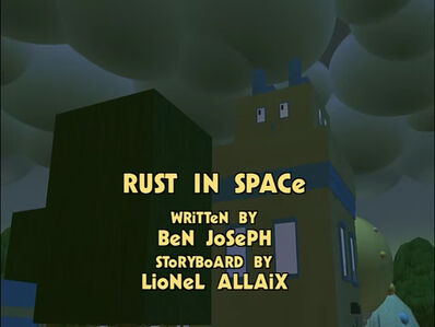 Rust In Space