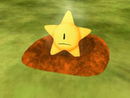 A star on the grass