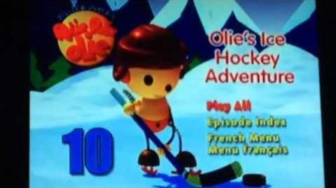 Opening to Rolie Polie Olie Olie's Ice Hockey Adventure 2004 DVD