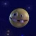 Light Yellow Planet with Buck Teeth