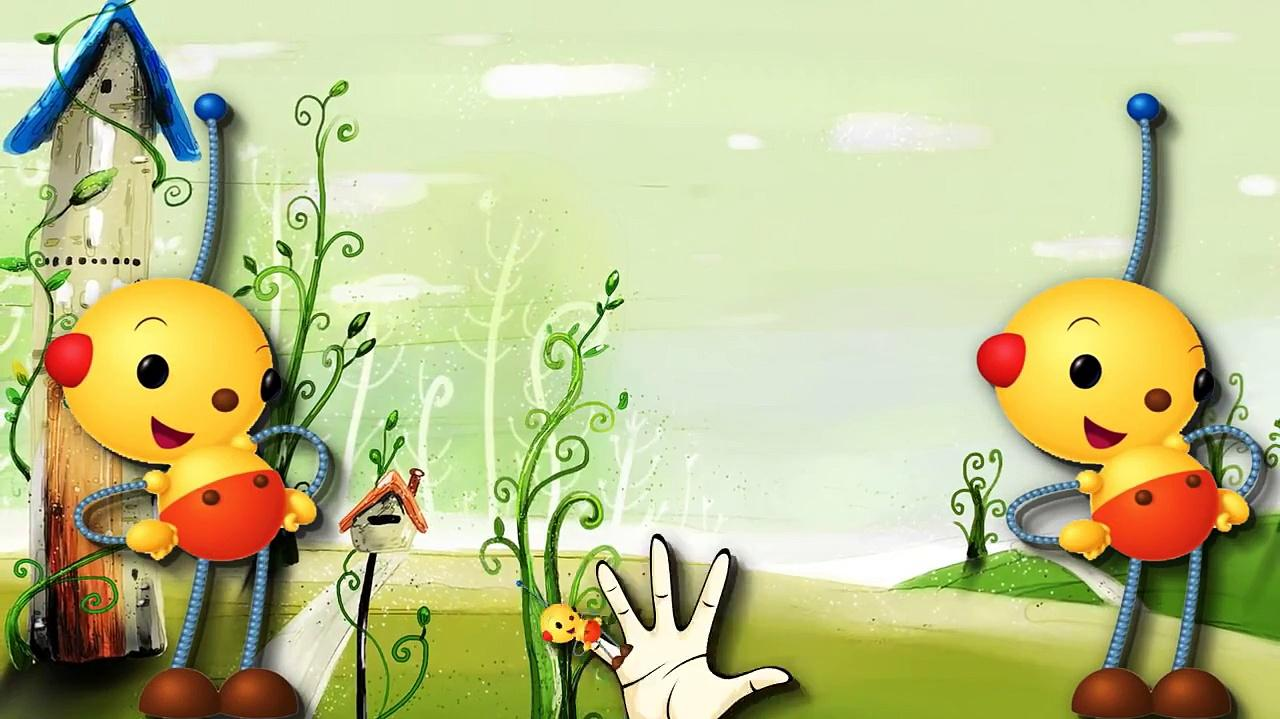 Finger Family Rhymes Rolie Polie Olie Cartoon Finger Family Nursery Rhymes For Children-1