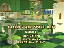 Calling All Space Boys