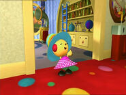 Zowie Polie in a special outfit