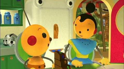 Rolie Polie Olie - Song Of The Bluefish Lady Bug, Lady Bug, Fly Away Home Beddy-Bye - Ep.53-0