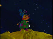 Aunt Polie Anna on the yellow planet