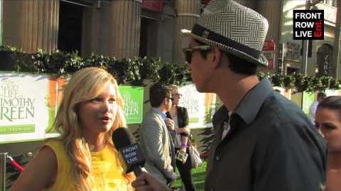 Olivia Holt interview w Robert Herrera