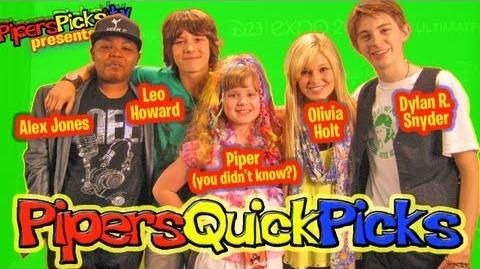 LEO HOWARD and OLIVIA HOLT KICKIN IT with DYLAN R. SNYDER & ALEX JONES & PIPER REESE! (PQP 104)