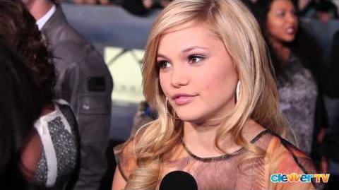 Olivia Holt Interview - Breaking Dawn Part 2 Premiere-0